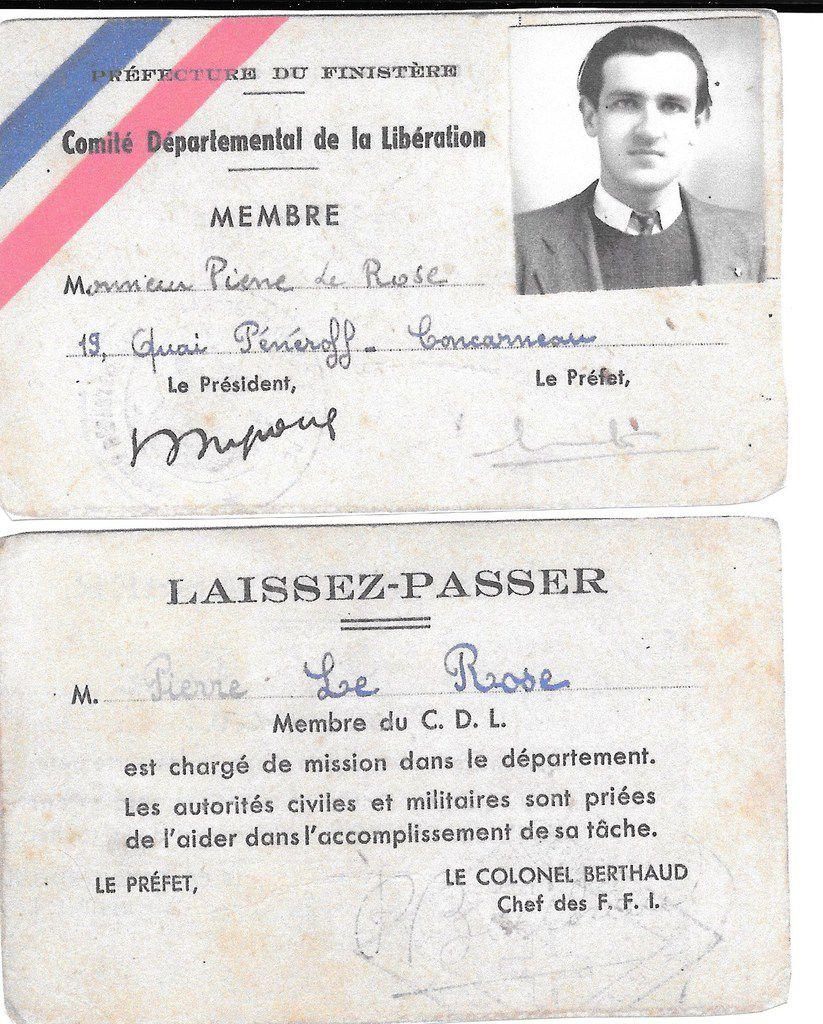 L'étincelle: journal de la Résistance communiste de Concarneau, Mai 1944- Juin 1944: un document exceptionnel des archives Pierre Le Rose