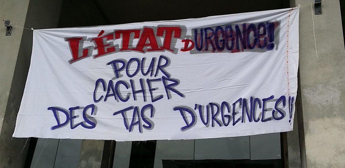 Manifestations contre l'état d'urgence le 30 janvier