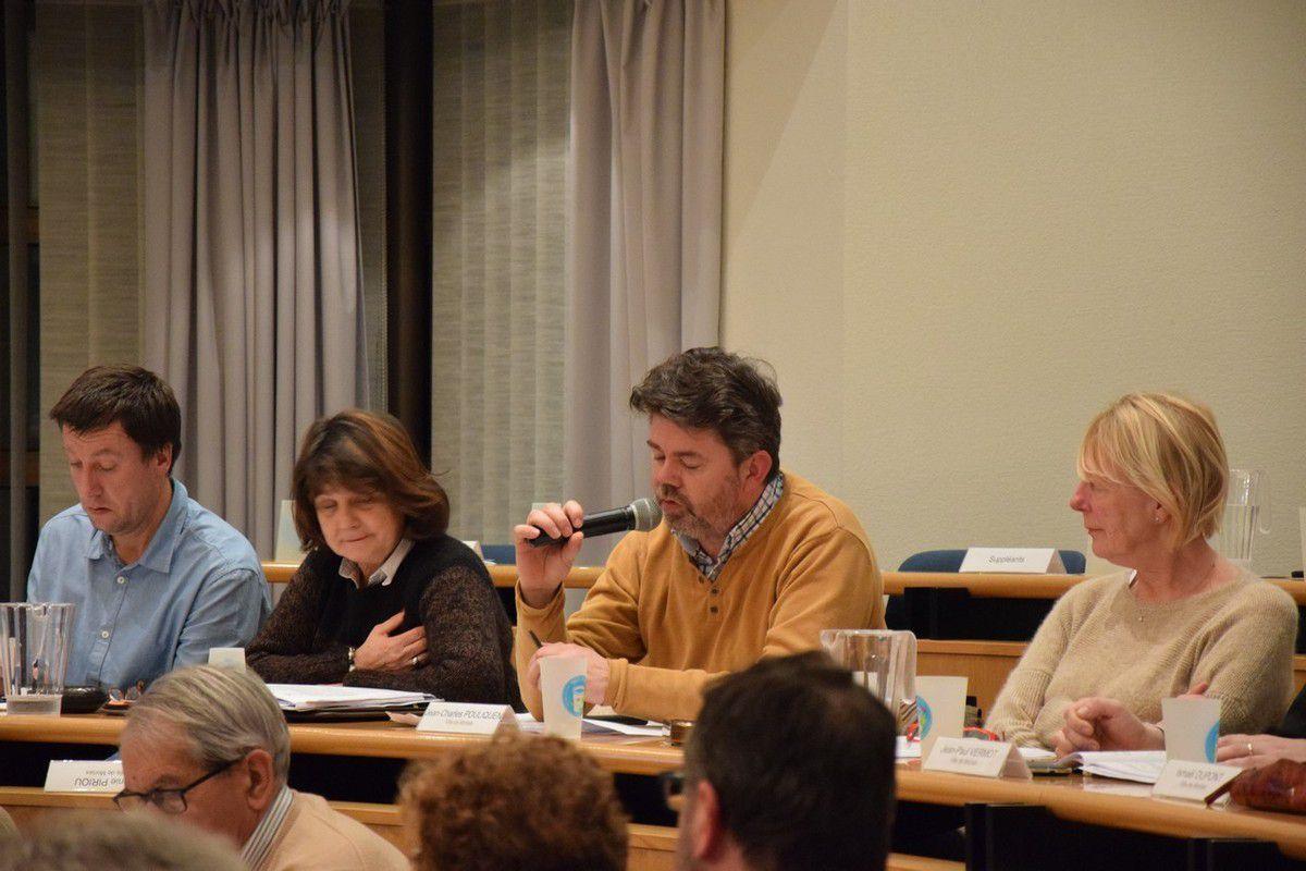 Photos du Conseil de Morlaix Communauté du 29 février 2016 (Pierre-Yvon Boisnard et Jean-Luc Le Calvez)