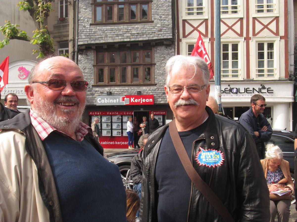Michel Prigent et Roger Héré