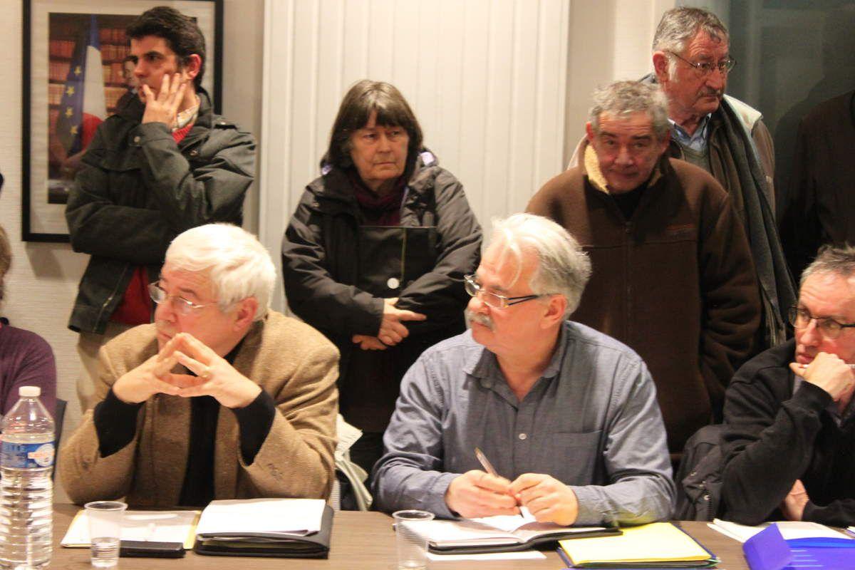 Conseil Municipal de Plouigneau en janvier 2015