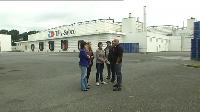 Guerlesquin: débrayage à l'usine de volaille Tilly Sabco (France 3, 28 juin)