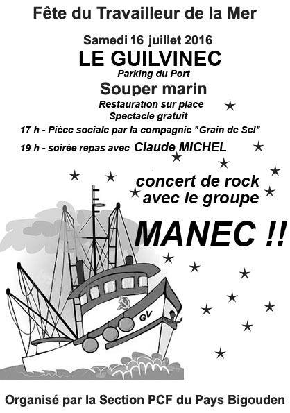 Les fêtes des sections du Parti Communiste dans le Finistère cet été 2016