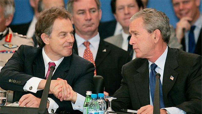 Un rapport accablant souligne les erreurs de Tony Blair sur la guerre en Irak en 2003 (Médiapart, 6 juillet 2016)