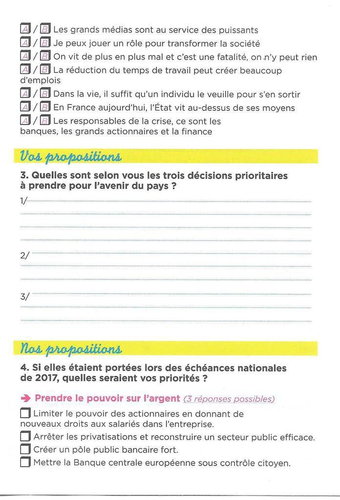 """Les militants du PCF seront sur le marché de Morlaix samedi 9 juillet pour distribuer un tract et faire remplir la grande consultation citoyenne """"Que demande le peuple?"""""""