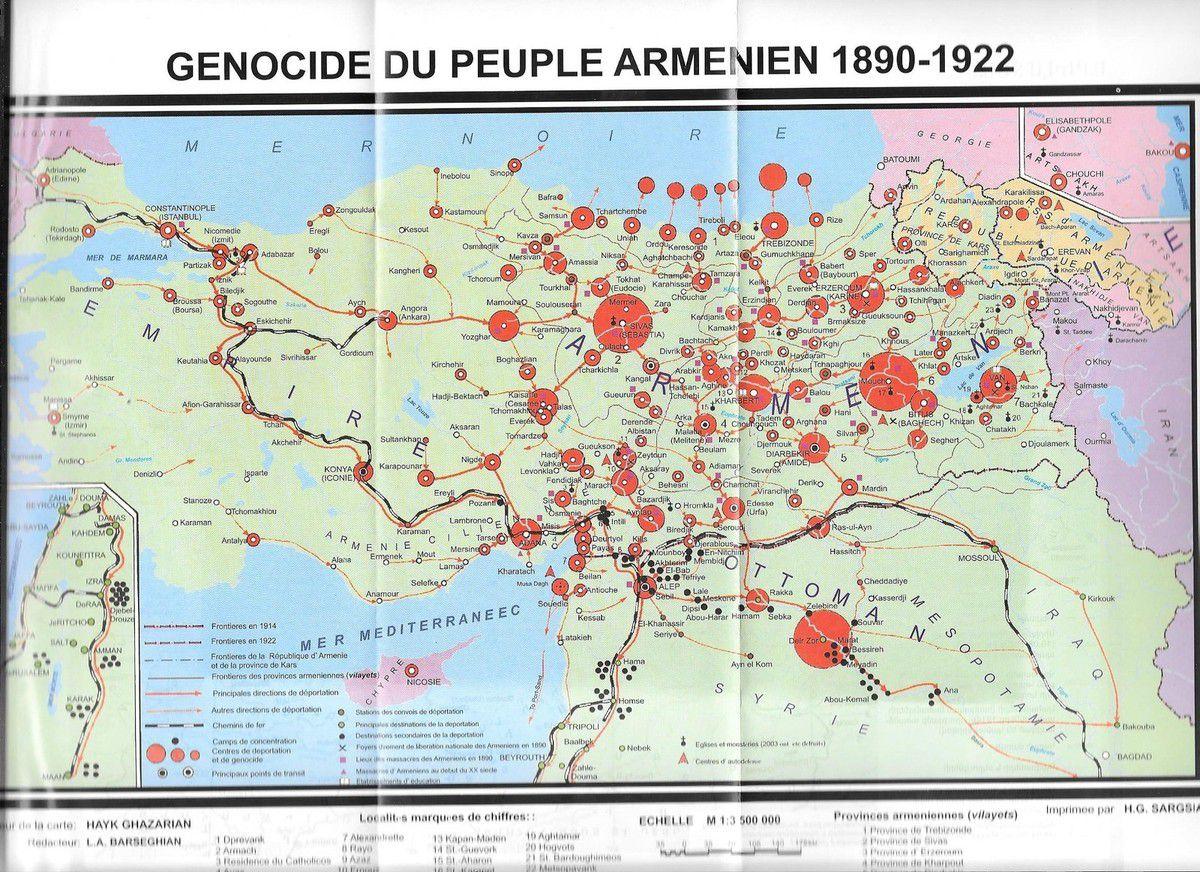 Le génocide des Arméniens d'Anatolie: l'horreur d'une volonté raciste  d'extermination collective sur fond de première guerre mondiale et de  nationalisme ...