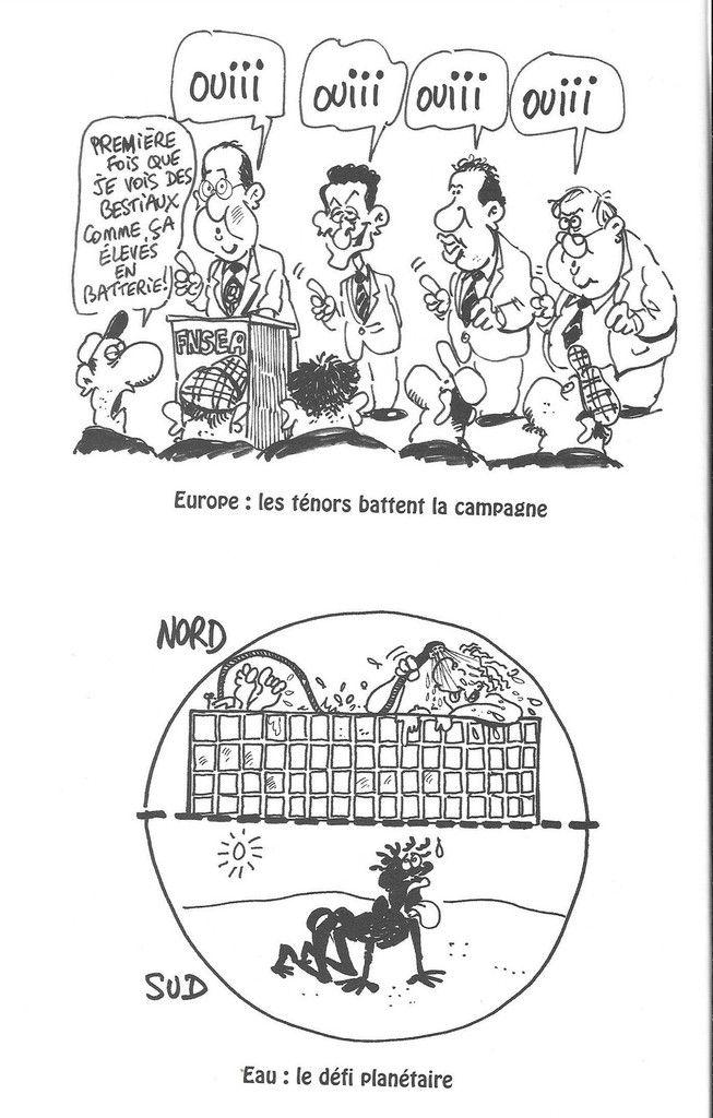 Nono 2005 référendum sur le TCE et inégalités nord-sud