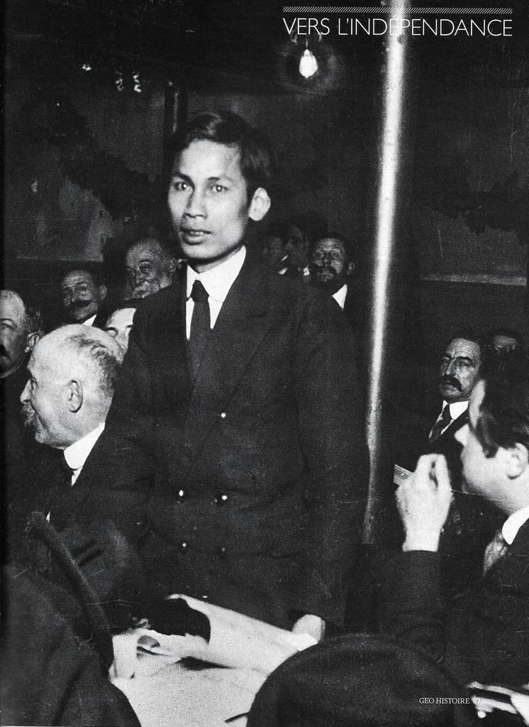 Hô Chi Minh au Congrès de Tours