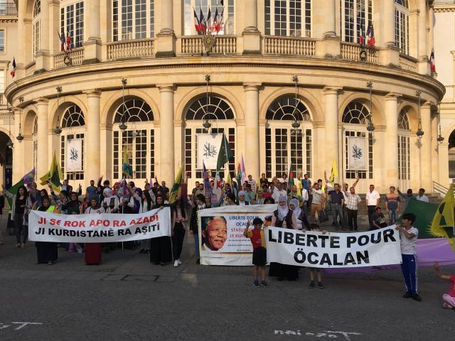 Rennes: la communauté kurde manifeste en ville le 20 juillet (Ouest-France)