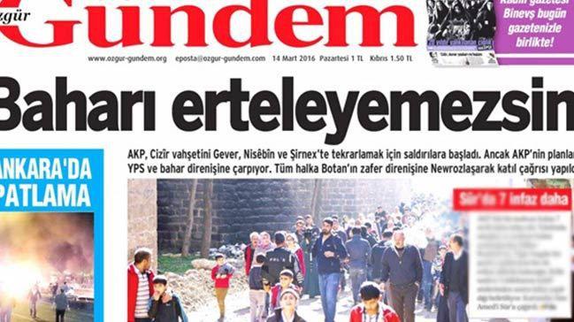 """Interdiction du journal turc Ozgur Gundem: """"La répression d'Erdogan doit être condamnée"""" (PCF)"""