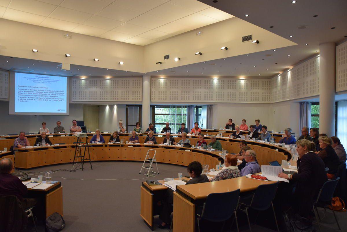 Ordre du jour du Conseil Communautaire de Morlaix-Communauté (CCI de Morlaix) le lundi 12 septembre 2016 à 18h