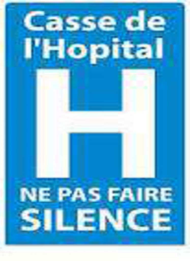 Le Comité de défense de l'hôpital se fait entendre (Ouest-France, 12 septembre 2016)