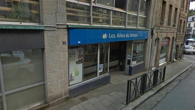 photo Ouest-France, la médiathèque Les Ailes du Temps, 5, rue Gambetta