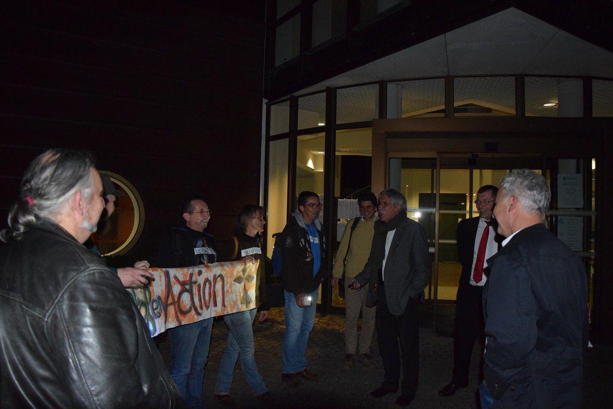 Conseil de communauté du 3 octobre 2016: photos Pierre-Yvon Boisnard et interventions de Ismaël Dupont, élu communautaire du Front de Gauche