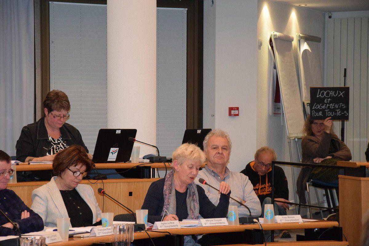 Conseil communautaire du 14 novembre 2016: compte rendu personnel de Ismaël Dupont (et photos de Pierre-Yvon Boisnard)