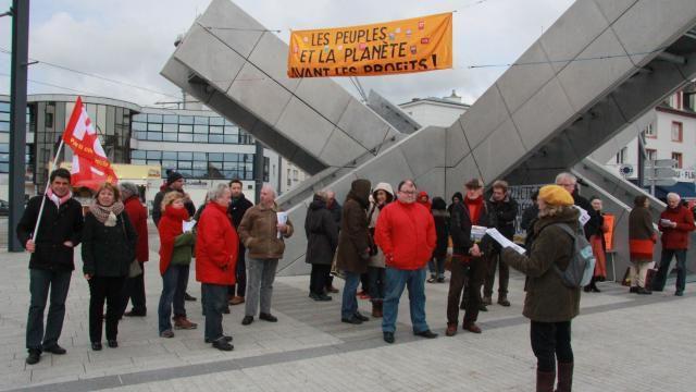 Brest. Un rassemblement contre le traité de libre-échange Ceta (Ouest-France, 11 février 2017)