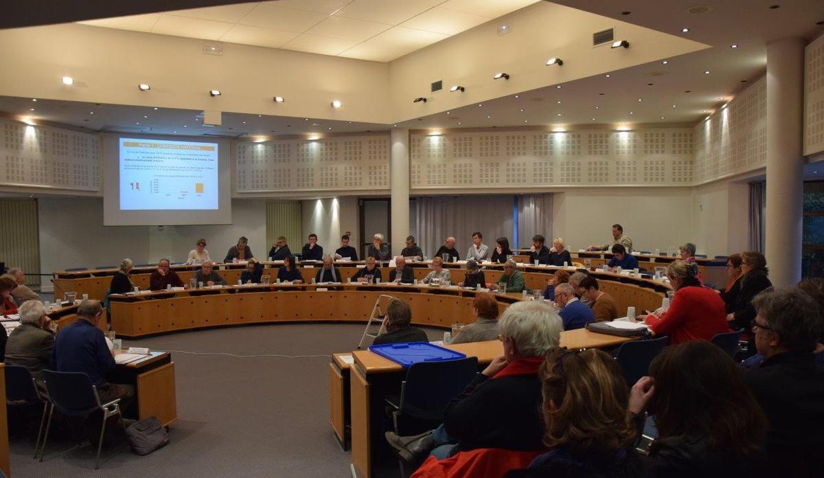 Conseil communautaire de Morlaix-Co du 13 février 2017 (photos de Pierre-Yvon Boisnard et compte rendu par Ismaël Dupont de ses interventions)