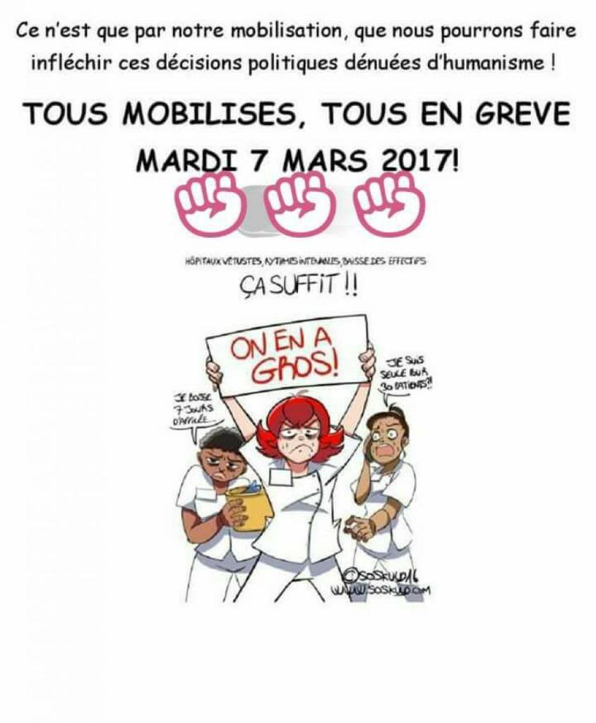 Urgence pour défendre nos hôpitaux et le service public de santé: Rassemblement à Brest le 7 mars à 11h place de la liberté à l'appel départemental de l'intersyndicale CGT-FO-SUD