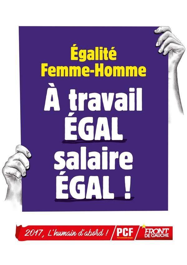 8 mars, journée internationale des droits des femmes et de l'égalité!