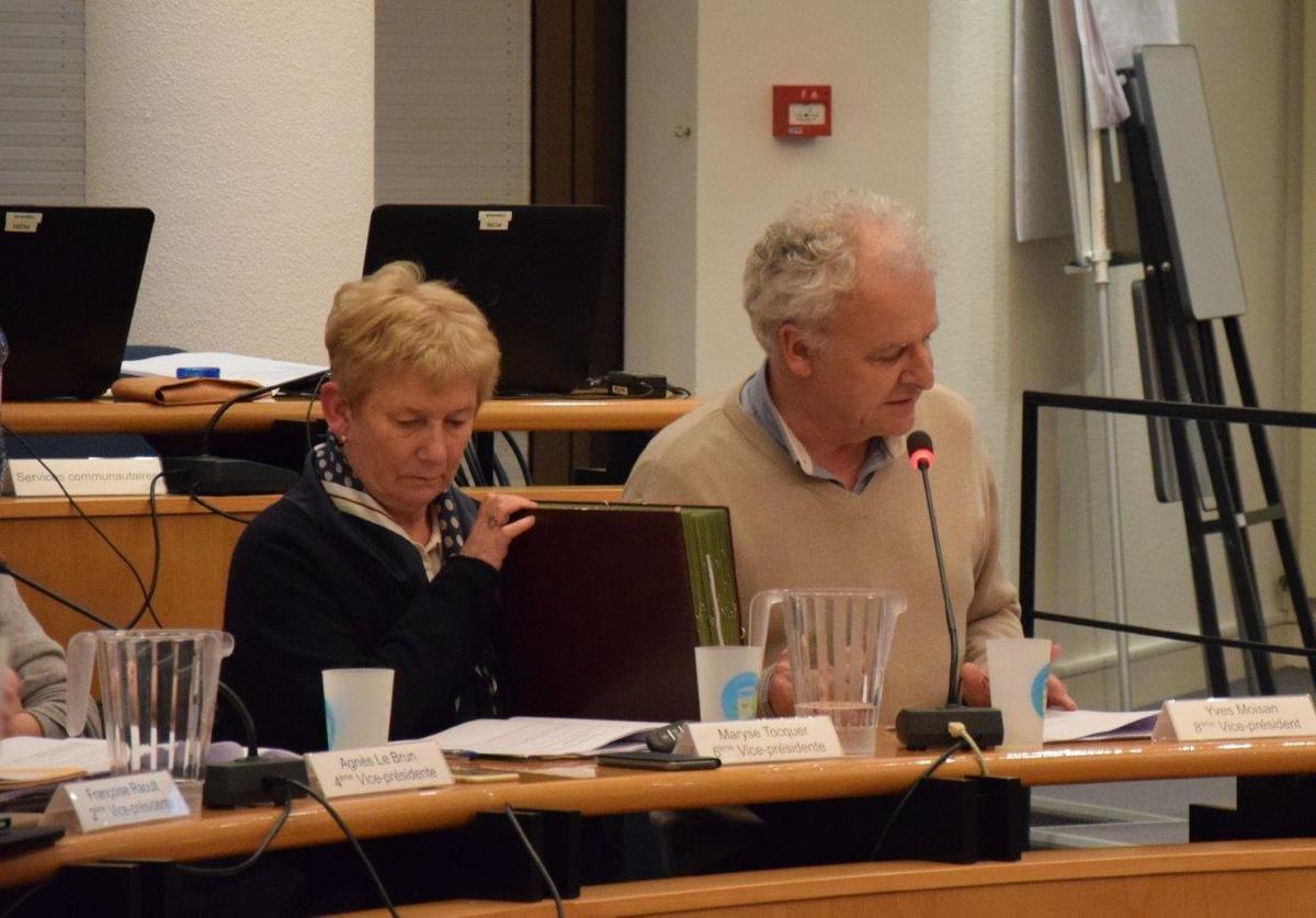 Conseil communautaire de Morlaix-Co du lundi 27 mars: photos de Pierre-Yvon Boisnard