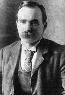 James Connolly vers 1900