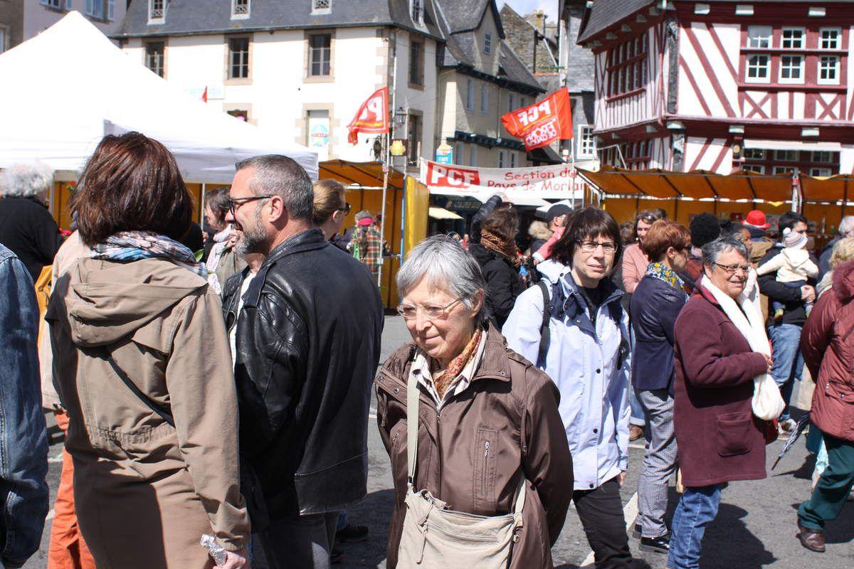 Marie Le Goasduff, au premier plan - photo Jean-Luc Le Calvez