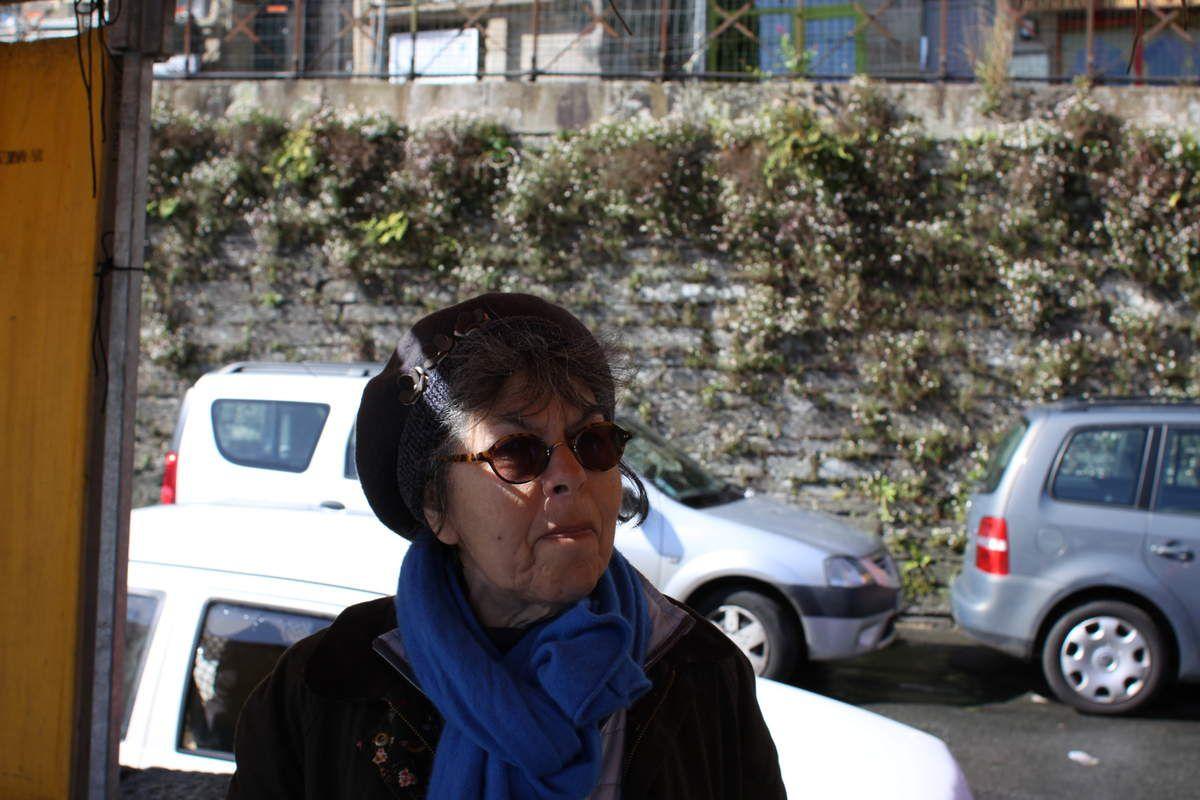 Lucienne Nayet (photo Jean-Luc Le Calvez)