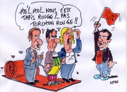 dessin de Nono pour la campagne d'Ismaël Dupont - mars 2017