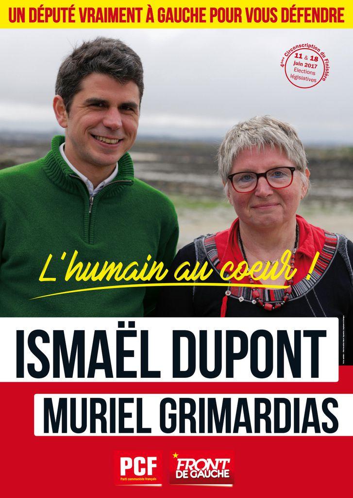 Législatives: Jeudi 8 juin: réunion-débat au bourg de Plougoulm au bar Amzer Zo à 18h30 avec Ismaël Dupont et Muriel Grimardias