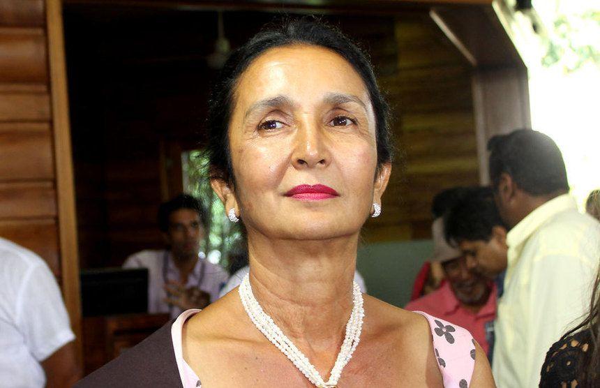 Huguette Belo, réélue à la Réunion