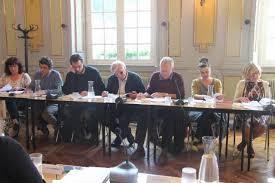 Opposition de gauche au conseil municipal de Morlaix - photo Ouest-France, juin 2016