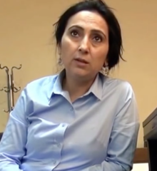 Figen Yuksedag, co-présidente du HDP