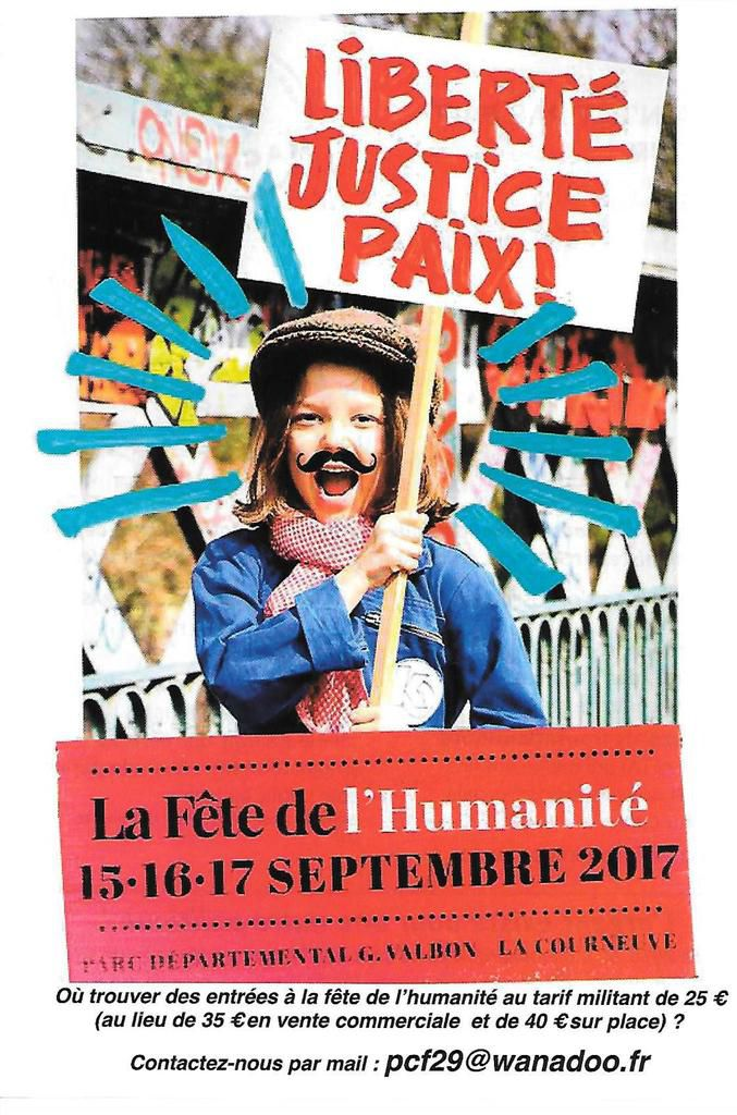 Les militants communistes du Finistère présents aux Vieilles Charrues, Au Bout du Monde, aux Jeudis du Port, à la Fête du Bruit