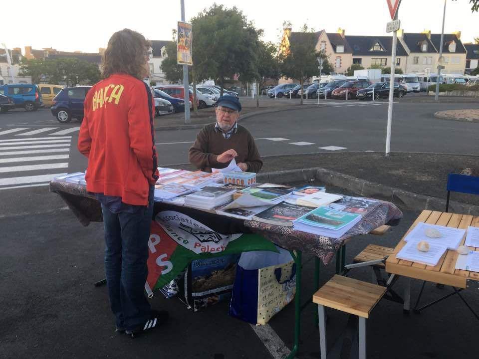 Le Guilvinec, 15 juillet 2017, fête du Travailleur Bigouden: Discours d'Ismaël Dupont, secrétaire départemental de la fédération PCF du Finistère