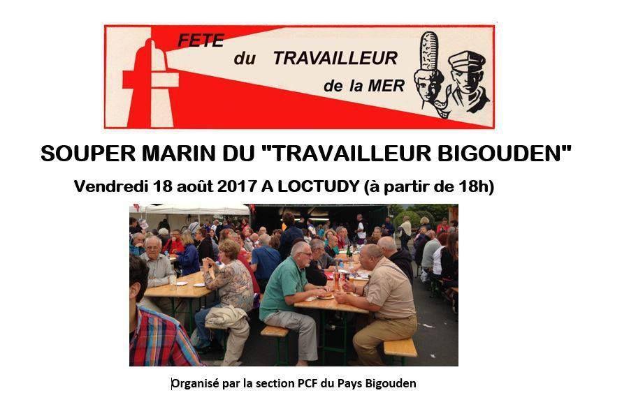 Vendredi 18 août: Fête du Travailleur de la Mer à Loctudy en présence de Xavier Compain