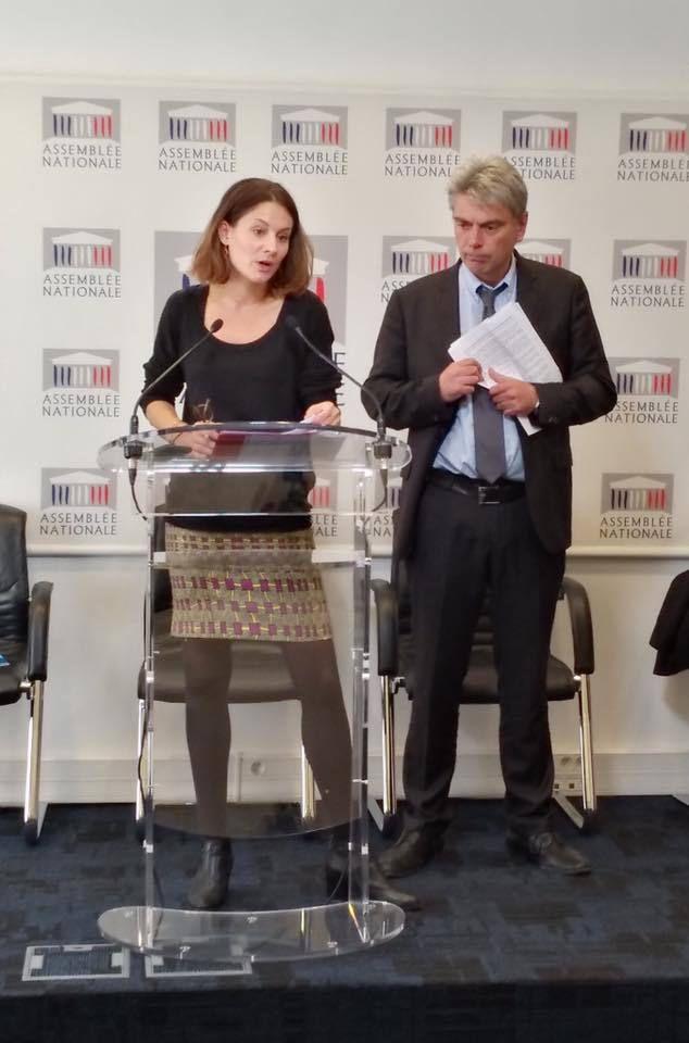 Conférence de presse des députés communistes, 3 octobre 2017 : &quot&#x3B;Les classes populaires ont été désignées comme la cible unique de ce quinquennat&quot&#x3B;(Sébastien Jumel)