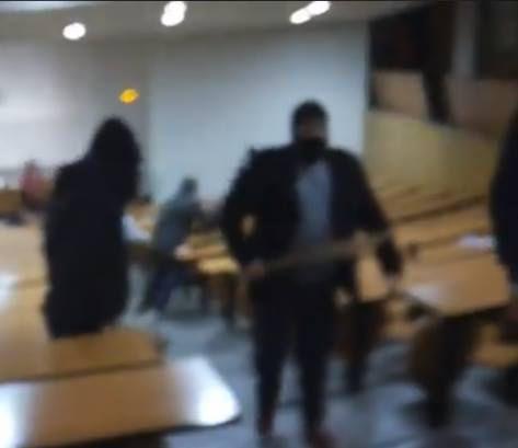 Quand des fachos cagoulés tabassent 50 étudiants en amphi à la fac de droit de Montpellier!