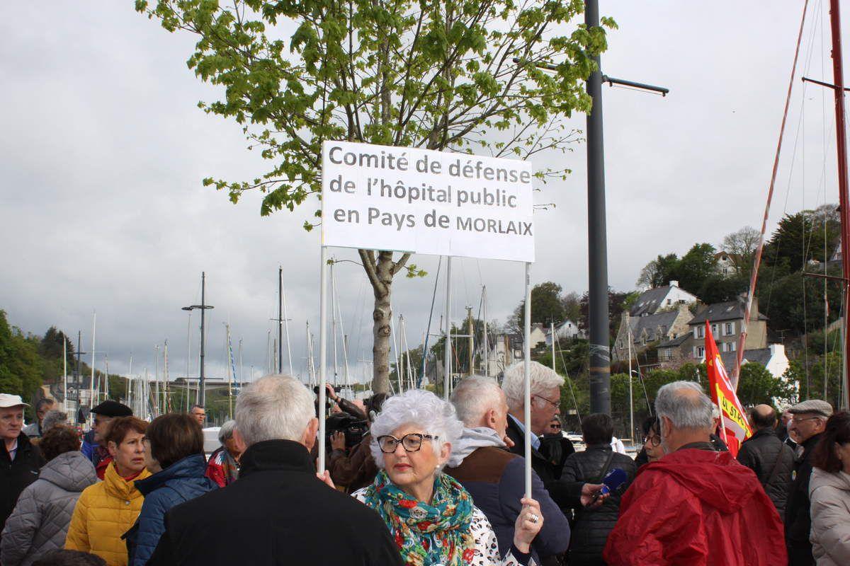 Pour une réouverture immédiate de la Cardiologie - 6000 habitants du Pays de Morlaix ont signé la pétition du Comité de défense du centre hospitalier public du Pays de Morlaix