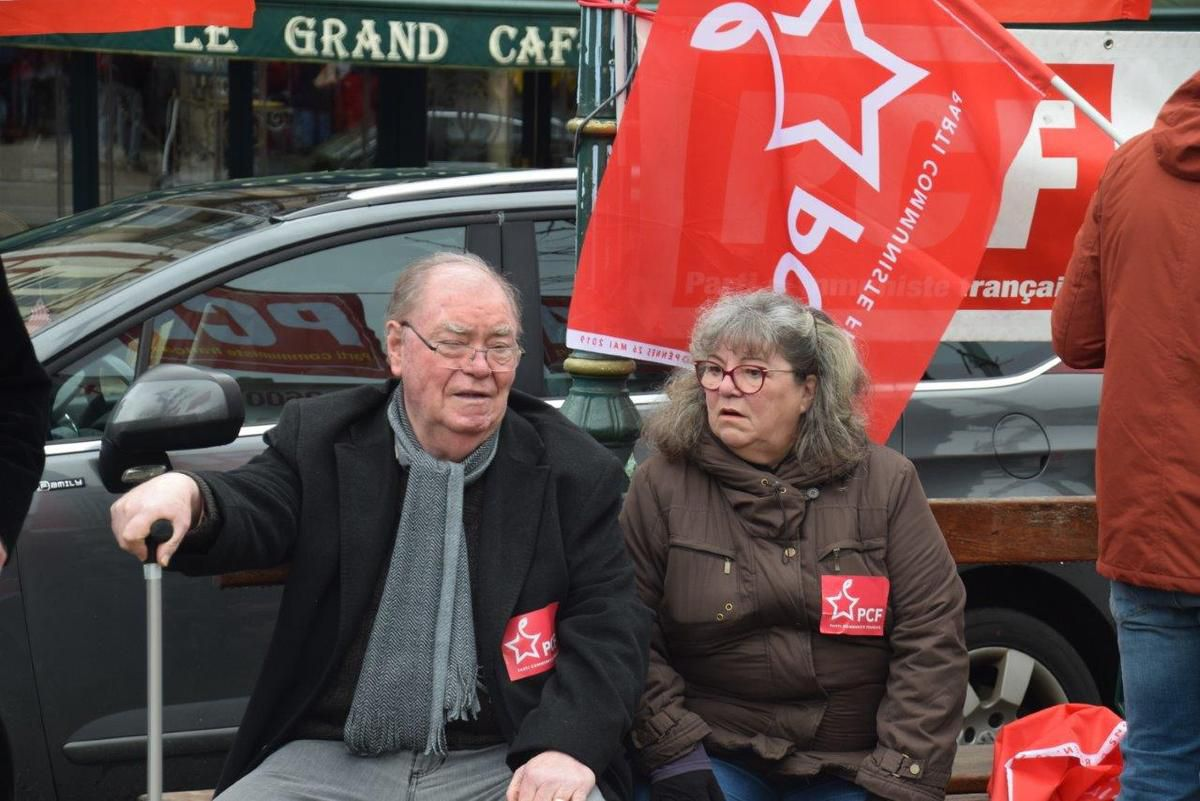 photo Pierre-Yvon Boisnard manifestation du 19 mars 2019 à Morlaix