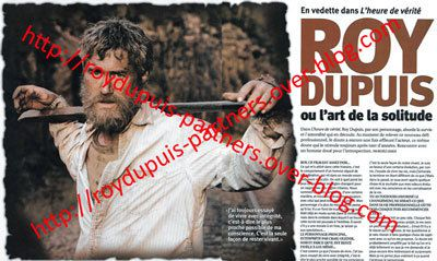 2009/08 - Roy Dupuis ou l'art de la solitude