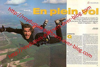 1993/08 - Roy Dupuis en plein vol