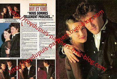 1992/03 - Roy Dupuis: en amour depuis trois ans