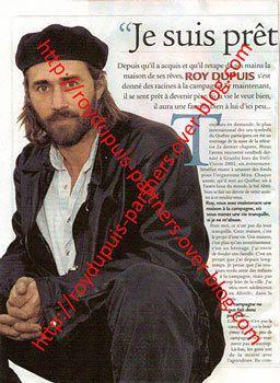 2002/06 - Roy Dupuis: je suis prêt à avoir des enfants
