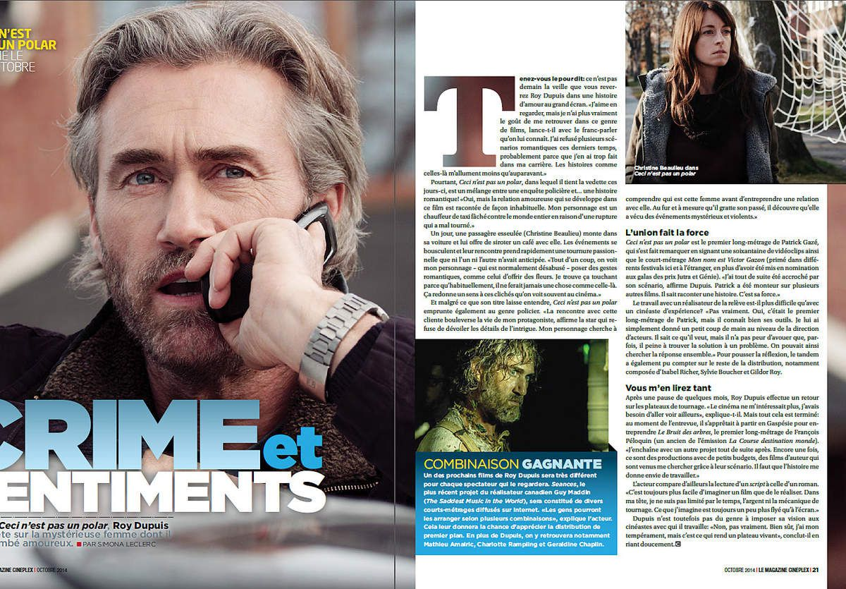 Magazine CINEPLEX - Octobre 2014
