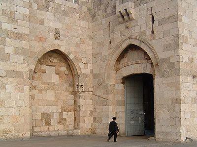 Une des 7 portes de Jérusalem : la porte de Jaffa