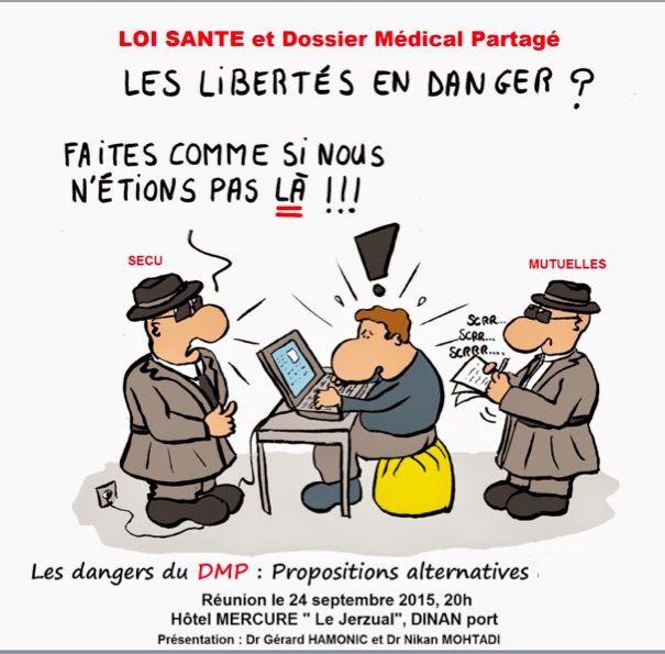 Jeudi 24 Septembre Dinan - DMP : quels sont les dangers ,quels sont les alternatives..