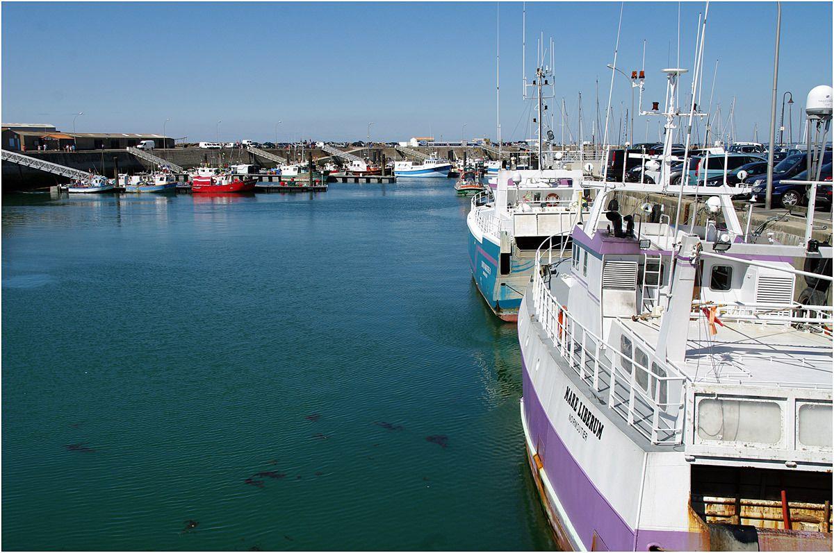 le port de l'Herbaudière