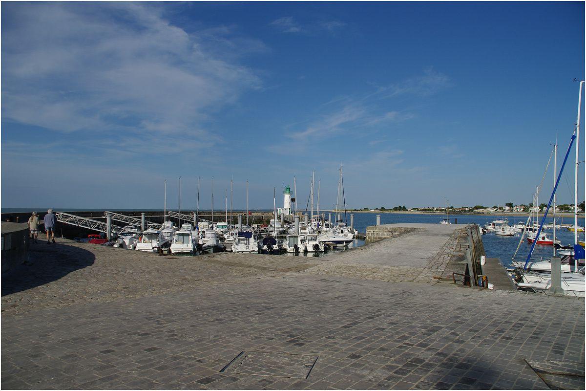 le port de La Flotte en Ré