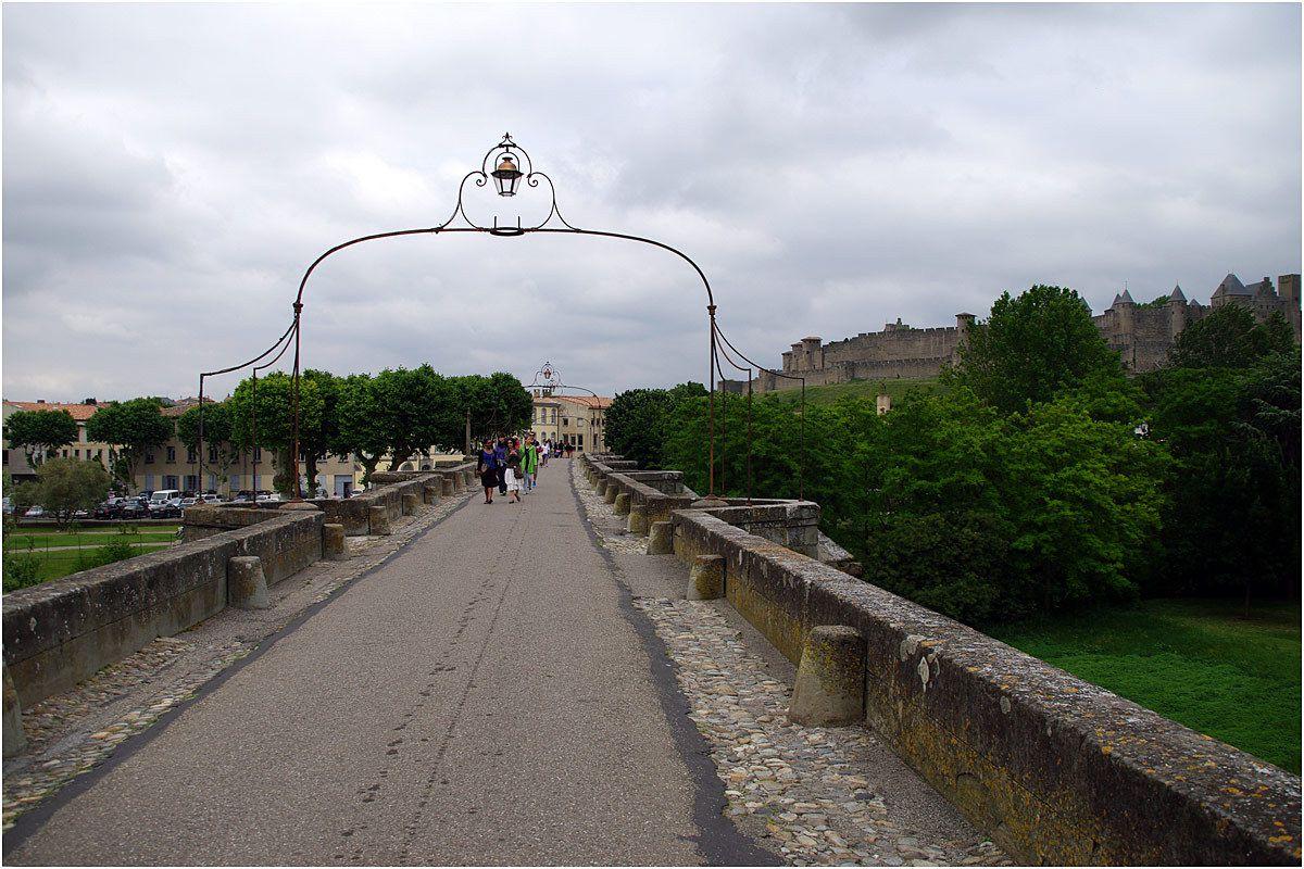 Carcassonne le Pont Vieux