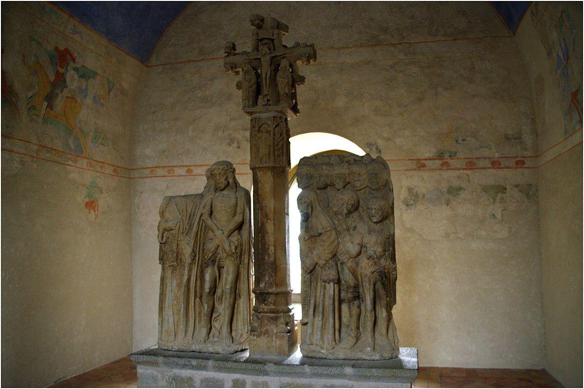 Carcassonne - château Comtal - le musée lapidaire